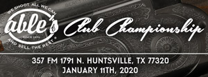 Club Championship Tournament Jan 11, 2020